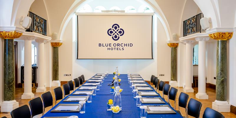 blue orchid hotel wellington meeting room